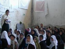 Afghanistan, école