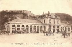 La gare de la Mouillère, au début du XXe siècle