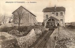 La gare haute, hiver 1912