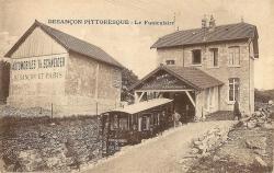 La gare haute, fin des années 1910