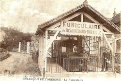 La gare basse au printemps 1913