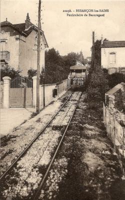 Montée du Funiculaire, début des années 1920