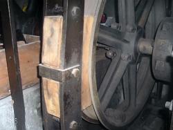 Patin de frein en bois