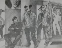 Mickey au musée