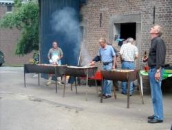 La cuisson commence ...