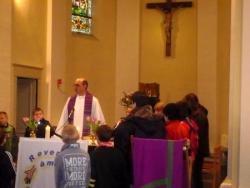 autour de l'autel