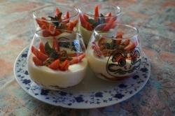 Tiramisu au fraises