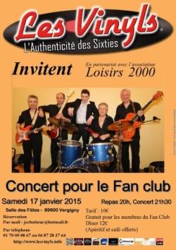 Concert pour le Fan-Club (2015)