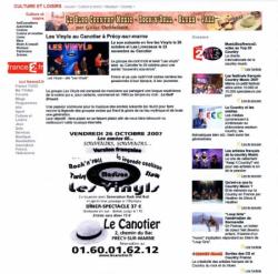 France 2 - Blog Rock'N'Roll (26/10/2007)
