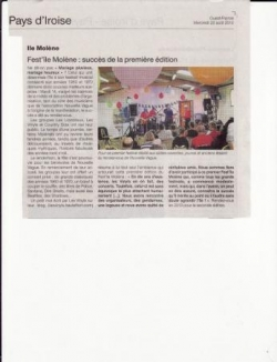 Ouest France (22/08/2012)