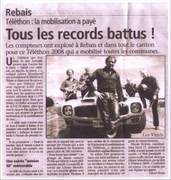 Journal de Rebais (8/12/2008)
