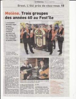 Le télégramme (14/08/2012)