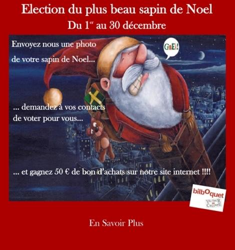 Participez au concours des ditions bilboquet le plus for Les plus beaux sapins de noel decores