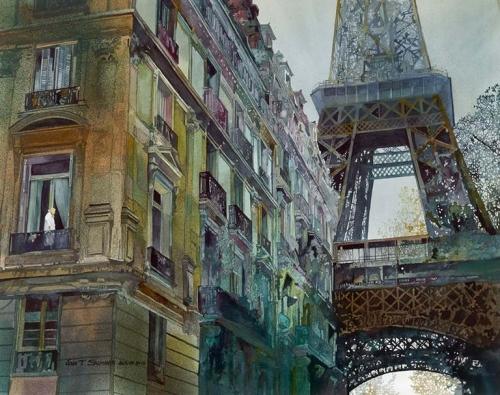 ~ John Salminen ... Watercolor ...