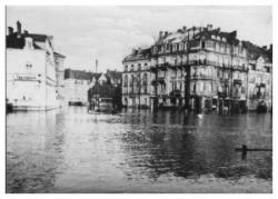 La moselle en crue 1936