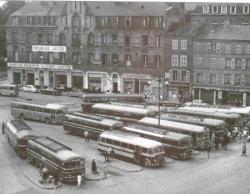 La gare routiere 1955