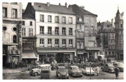 Place du marche en 1955