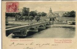 Ex pont de la moselle 1900