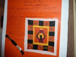 broderie et travail de la soie à ambalavao