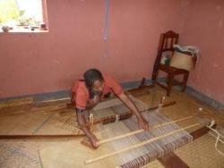 métier à tisser la soie