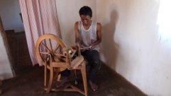 travail de la soie - filage