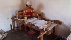 travail de la soie - tissage