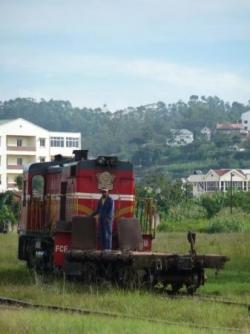 Le train pour Manakara