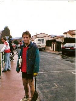 David au biathlon de Fontannes (03/96)