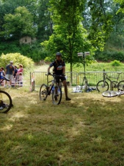 Olympides de Brioude, triathlon 2006
