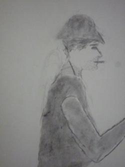 """d'après Cézanne """"les joueurs de cartes"""""""