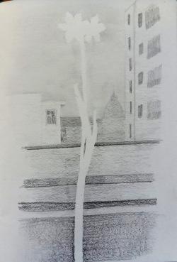 Le blanc du papier A.