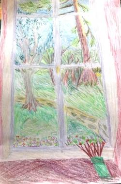 La fenêtre A.