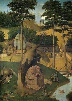 Bosch, Tentation de saint Antoine, musée de Madrid
