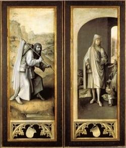 Bosch Le jugement dernier, musée Vienne Autriche