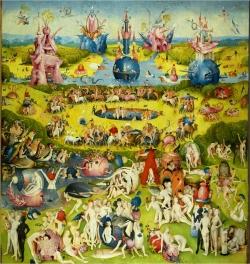Bosch Le jardin des délices, le paradis