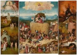 Bosch, le chariot de foin