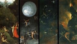 Bosch, Vision de l'au delà