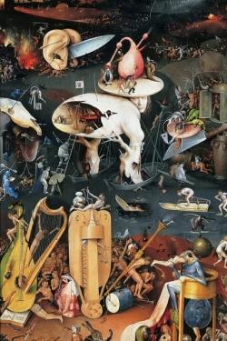 Bosch le jardin des délices, l'homme arbre