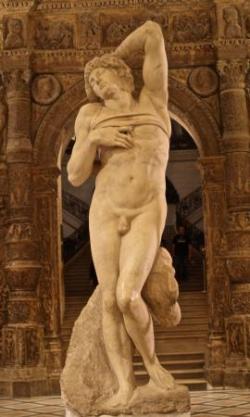 47 Michel ange esclave mourant 1513 1515.jpg