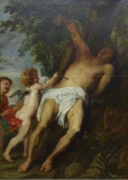 62 Van Dyck St Sébastien secouru par les anges .j