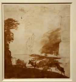 Paysage avec animaux Claude Gellée dit Le Lorrain