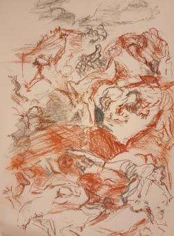 La chasse des Géants Salvator Rosa