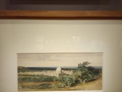 Paysage d'Orient Alexandre gabriel DEscamps