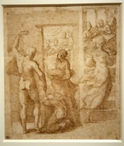 Décollation de St Jean Baptiste Francesco Mazzuola