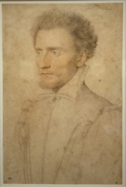 Portrait de la Rochefoucault par François Clouet