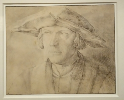 Homme au chapeau à large bord de Lucas Van Leyden