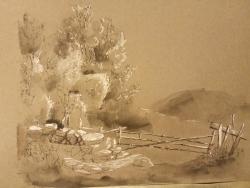 Paysage de montagne Alexandre Calame