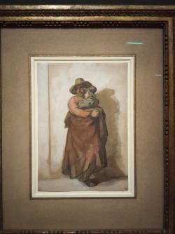 Paysan portant un enfant dans les bras Géricault