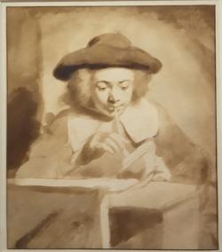 Homme fumant de Gerbrand van den Eeckhout