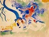 Bacchus dansant de Derain